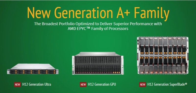 Supermicro new A+ family EPYC 2nd